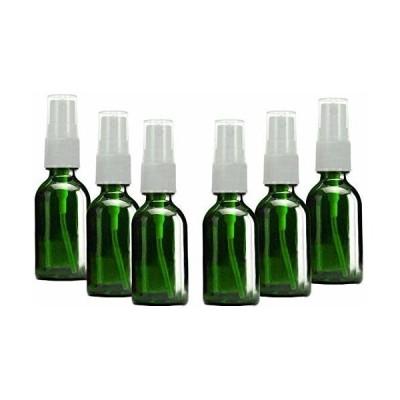 SHINEZONE スプレーボトル 30ml 6本 遮光 ガラス製 スプレー容器 詰替ボトル 携帯 ボトル ト香水のための化粧品容