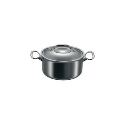 【まとめ買い10個セット品】 デバイヤー アフィニティ シチューパン(蓋付)3742-24cm【 IH・ガス兼用鍋 】