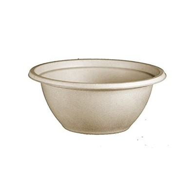 100% Compostable Bowls by World Centric, Made from Unbleached Plant Fiber,