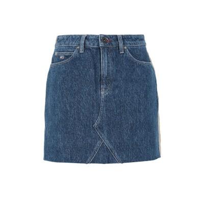 TOMMY JEANS デニムスカート ブルー 28 コットン 100% デニムスカート
