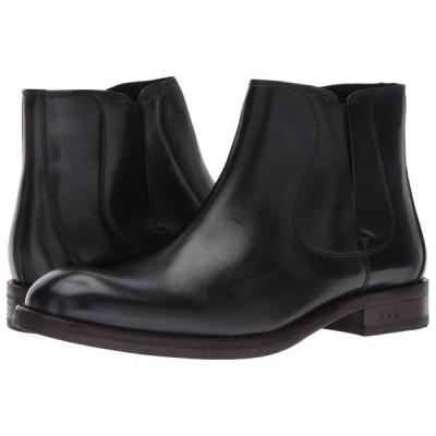 ジョン バルベイトス John Varvatos メンズ ブーツ シューズ・靴 Waverly Chelsea Black