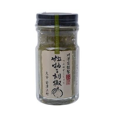 川津家謹製 粒柚子胡椒 (60g・青)