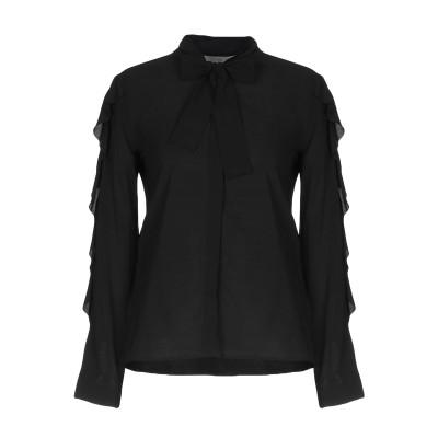 ロートレ ショーズ L' AUTRE CHOSE シャツ ブラック 46 レーヨン 92% / ポリウレタン 8% シャツ