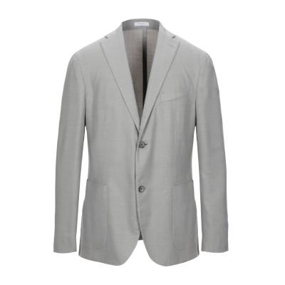 ボリオリ BOGLIOLI テーラードジャケット ライトグレー 48 バージンウール 75% / ポリエステル 25% テーラードジャケット