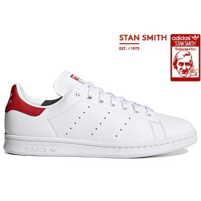 adidas Originals STAN SMITH EF4334 WHITE/FTWRWHITE/LUSHRED アディダス オリジナルス スタンスミス ホワイト レッド メンズ レディース スニーカー 定番