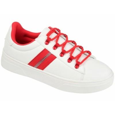 ジャーニーコレクション スニーカー シューズ レディース Comfort Foam Arden Sneaker Red