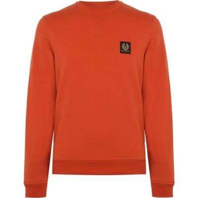 ベルスタッフ BELSTAFF メンズ スウェット・トレーナー トップス Jefferson Sweatshirt Orange SMU