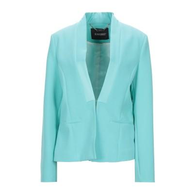 ALMAGORES テーラードジャケット ターコイズブルー 46 ポリエステル 88% / ポリウレタン 12% テーラードジャケット