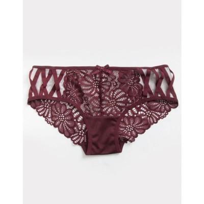 フルティルト FULL TILT レディース ショーツのみ インナー・下着 All Over Lace Hot Pink Bikini Panties CHOCOLATE