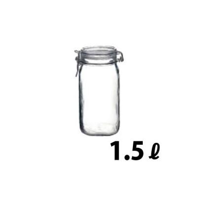ボルミオリロッコ フィドジャー 1.5L(角型ガラス製保存容器)