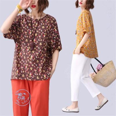 半袖Tシャツ Tシャツ トップスレディース 夏 カジュアルTシャツ 丸首 popな柄 着回し デーリー 通勤 お出かけ 部屋着 ママ服 きれいめ 大きいサイズ リラックス