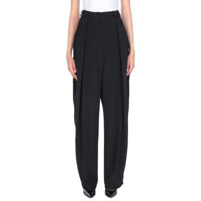 LUCILLE パンツ ブラック 42 アセテート 65% / シルク 35% パンツ