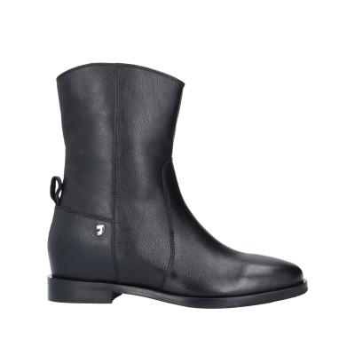 GIOSEPPO ショートブーツ ブラック 36 牛革 100% ショートブーツ