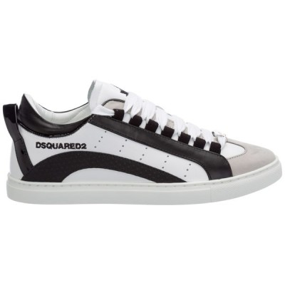 ディースクエアード メンズ スニーカー シューズ Dsquared2 551 Logo Low-Top Sneakers -