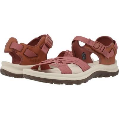 キーン KEEN レディース サンダル・ミュール オープントゥ シューズ・靴 Terradora II Strappy Open Toe Redwood/Pheasant