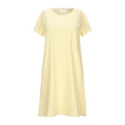 VICOLO ミニワンピース&ドレス イエロー one size コットン 100% ミニワンピース&ドレス