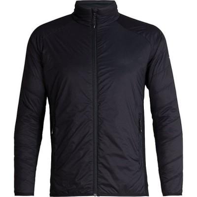 アイスブレーカー ジャケット&ブルゾン メンズ アウター Icebreaker Men's Hyperia Lite Hybrid Jacket Black
