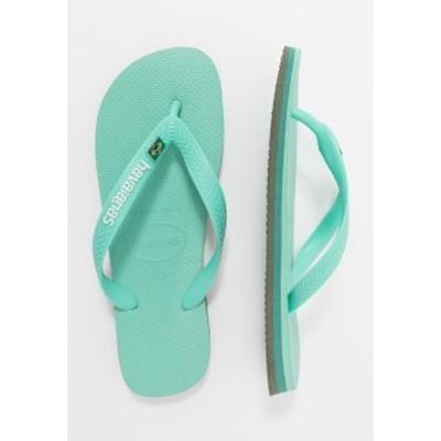 ハワイアナス メンズ サンダル シューズ BRASIL LAYERS UNISEX - Pool shoes - green dew green dew