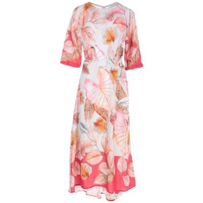 カオス KAOS 7分丈ワンピース・ドレス ピンク 40 100% レーヨン 7分丈ワンピース・ドレス