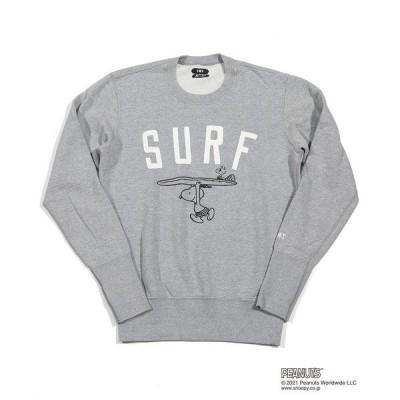 スウェット PEANUTS×TMT SWEAT SHIRTS(SURF)