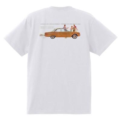 アドバタイジング フォード 827 白 Tシャツ 黒地へ変更可 1960 サンダーバード ギャラクシー ファルコン フェアレーン エドセル スターライナー
