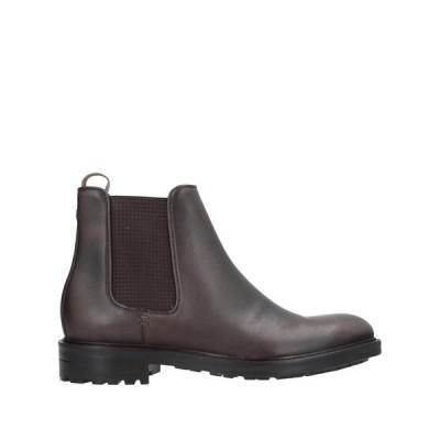 BRIMARTS ショートブーツ  メンズファッション  メンズシューズ、紳士靴  ブーツ  その他ブーツ ダークブラウン