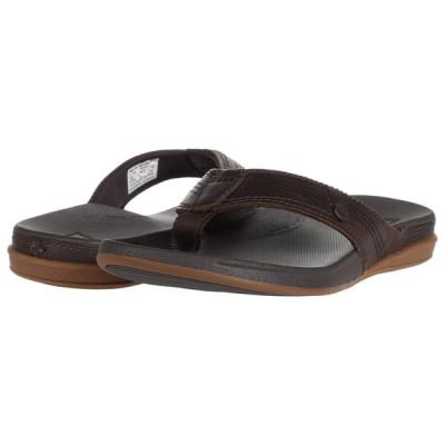リーフ Reef メンズ ビーチサンダル シューズ・靴 Cushion Lux Black/Brown