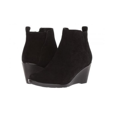 Blondo ブロンド レディース 女性用 シューズ 靴 ブーツ アンクルブーツ ショート Vor Waterproof - Black Suede