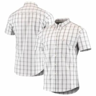 Antigua アンティグア シャツ ポロシャツ Antigua Pittsburgh Steelers Black Woven Button-Down Shirt