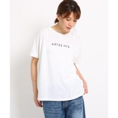 THE SHOP TK / ザ ショップ ティーケー プリントロゴTシャツ