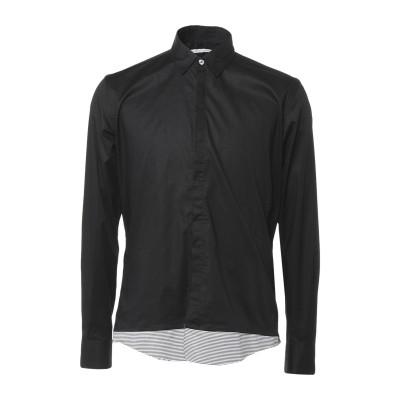 ダニエル アレッサンドリーニ DANIELE ALESSANDRINI シャツ ブラック 39 コットン 97% / ポリウレタン 3% シャツ
