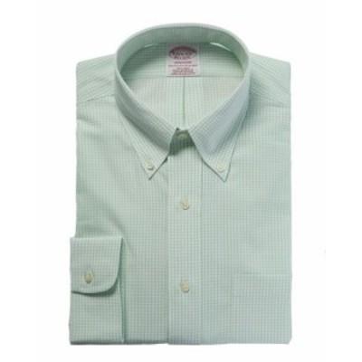 brooks ブルックス ファッション アウター Brooks Brothers Madison Fit Dress Shirt 15H34 Green