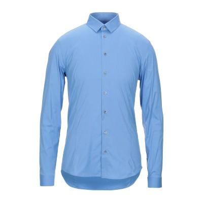 パトリツィア ペペ PATRIZIA PEPE シャツ アジュールブルー 46 コットン 67% / ナイロン 27% / ポリウレタン 6% シャツ