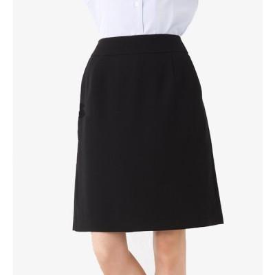 Aラインシルエットスカート 事務服 企業制服 オフィスユニフォーム リクルートスーツ 通勤 入学式 卒業式にもおすすめ! ひざ丈 きれいめ