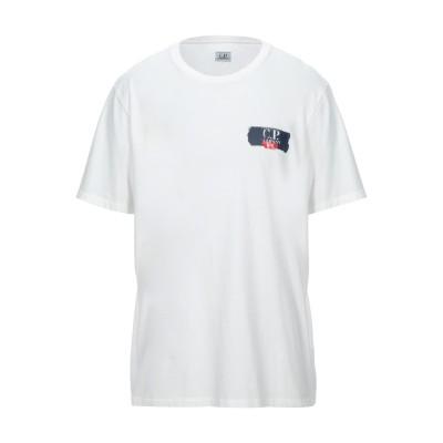 シーピーカンパニー C.P. COMPANY T シャツ ホワイト XXL コットン 100% T シャツ