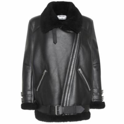 アクネ ストゥディオズ Acne Studios レディース ジャケット シアリング アウター Velocite shearling jacket Black/Black