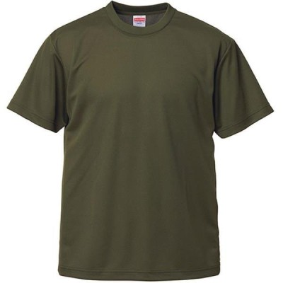 Tシャツ 無地 半袖 無地 トップス 4.1oz ドライアスレチックTシャツ OD  (UNA)(CQB27)