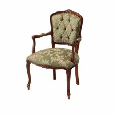 ダイニングチェア 椅子 おしゃれ 北欧 激安 肘付き ひじ掛け クッション 座布団 座り心地 アンティーク ウォールナット ウォルナット 木