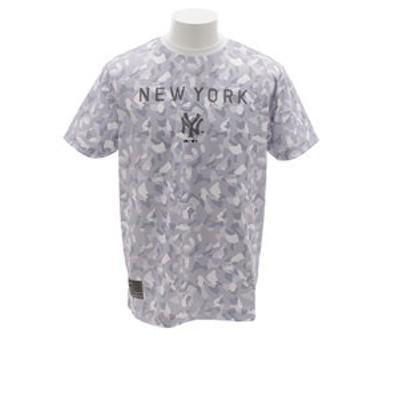 Tシャツ メンズ UT カモフラージュ 半袖Tシャツ MM01-NYK-8S04-GRY 【野球 スポーツ ウェア 一般】