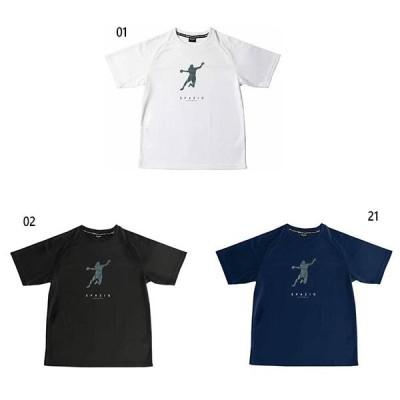 スパッツィオ メンズ レディース ハンドボールプレイヤーTシャツ1   ハンドボールウェア 半袖 BC-0132
