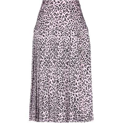アレッサンドラ・リッチ ALESSANDRA RICH ひざ丈スカート ピンク 40 シルク 100% ひざ丈スカート