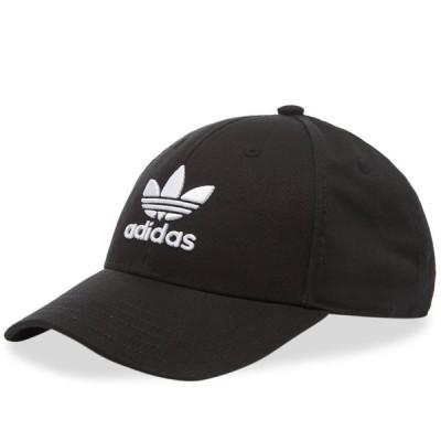 アディダス adidas TREFOIL CLASSIC BASEBALL CAP オリジナルス クラッシック ベースボール キャップ ブラック