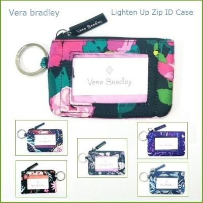 [Vera Bradley]ヴェラ・ブラッドリー IDケース 定期券入れ / PASMOケース 小銭入れ Lighten Up Zip ID Case メール便発送可