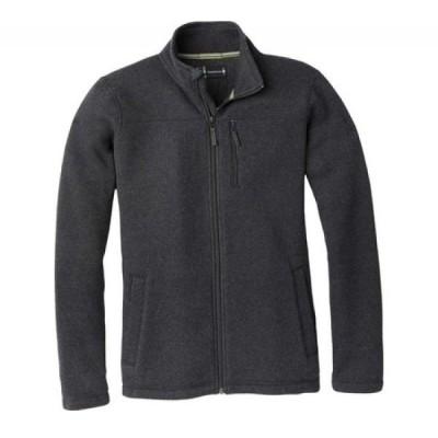スマートウール Smartwool メンズ フリース トップス Hudson Trail Fleece Full Zip Jacket Dark Charcoal