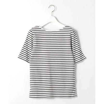 tシャツ Tシャツ FC ボーダー クルーネック 2WAY