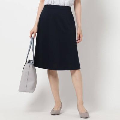 リフレクト Reflect 【UVカット/洗える/夏匠シリーズ】フレアスカート (ネイビー)