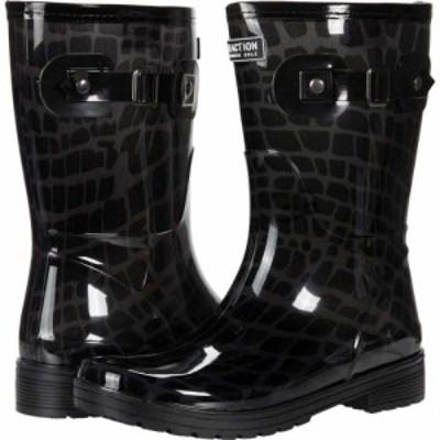 ケネス コール Kenneth Cole Reaction レディース レインシューズ・長靴 シューズ・靴 Rain Buckle Black Multi Croc PVC