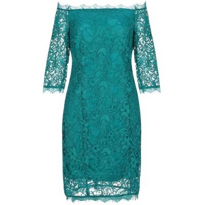 リュー ジョー LIU •JO ミニワンピース&ドレス ディープジェード 40 ポリエステル 100% ミニワンピース&ドレス