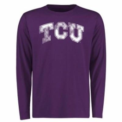 Fanatics Branded ファナティクス ブランド スポーツ用品  TCU Horned Frogs Purple Big & Tall Classic Primary Long Sleeve T-Shirt