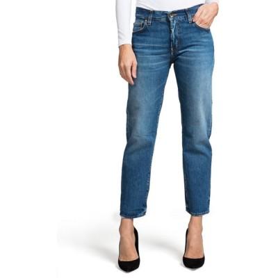 ピーアールピーエス レディース デニムパンツ ボトムス Delorean Mid-Rise Ankle Straight-Leg Jeans - Equinox